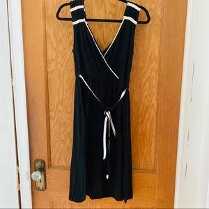 Converse casual wrap style dress sz M